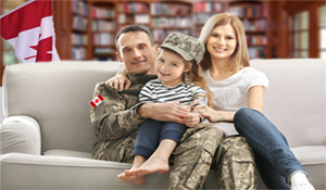 Canadian Military Relocation Family